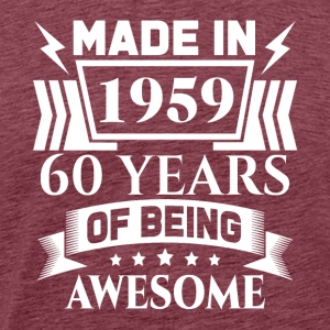 Made in 1959 60 Years Of Being Awesome