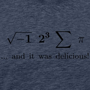 I ate some pie ... and it was delicious! - Men's Premium T-Shirt