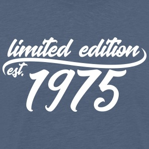 Limited Edition est 1975 - Mannen Premium T-shirt