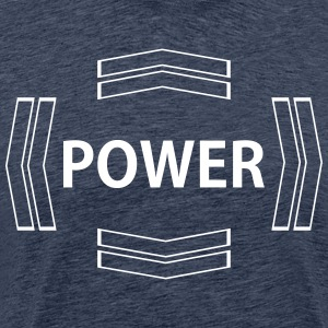 power - Men's Premium T-Shirt
