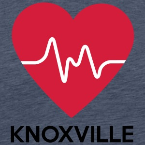 heart Knoxville - Men's Premium T-Shirt