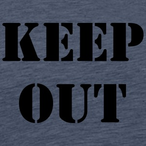 keep out - T-shirt Premium Homme