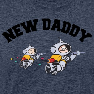 New Daddy (PERSONALIZE ADD DATE YEAR) - Men's Premium T-Shirt