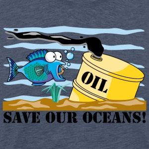 Earth Day Save Our Oceans - T-shirt Premium Homme