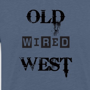 Old West fast Black - Premium-T-shirt herr