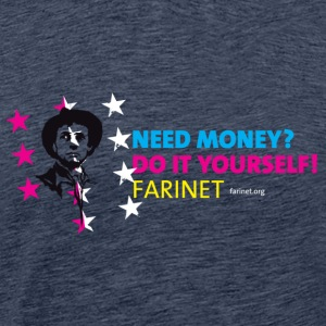 Farinet Do It Yourself Horizontal - T-shirt Premium Homme