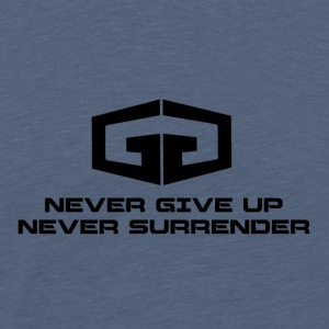 NeverGiveUp Black - Premium-T-shirt herr