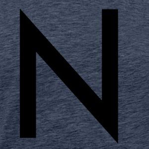 The N - Männer Premium T-Shirt
