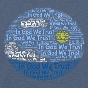 In God We Trust med Tagul stil - Premium T-skjorte for menn