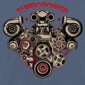 turbo power - Men's Premium T-Shirt