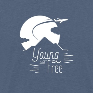 Young and Free - T-shirt Premium Homme