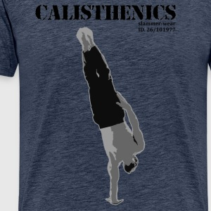 Calisthenics ONE ARM HANDSTAND - Men's Premium T-Shirt