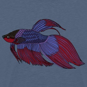 fishcoloured - Premium-T-shirt herr