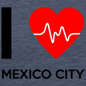 I Love Mexiko City - Ich liebe Mexiko City - Männer Premium T-Shirt