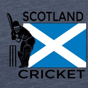 Cricket Skottland - Premium T-skjorte for menn