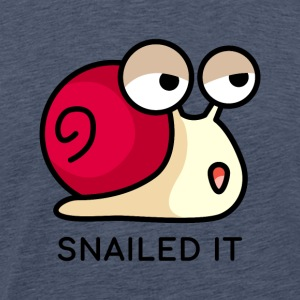 Snail Pun - Snailed It - Gift