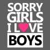 Sorry Girls I Love Boys - Mannen Premium T-shirt