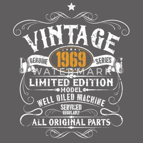 50e Verjaardag Vintage 1969 50 Jaar Cadeau Mannen Premium