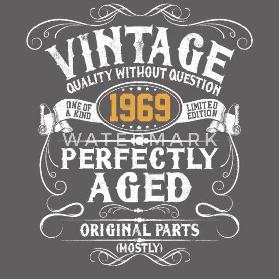50e Verjaardag Vintage Cadeau Uit 1969 50 Jaar Mannen