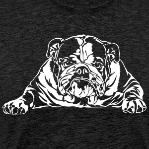 Bad English Bulldog - Männer Premium T-Shirt