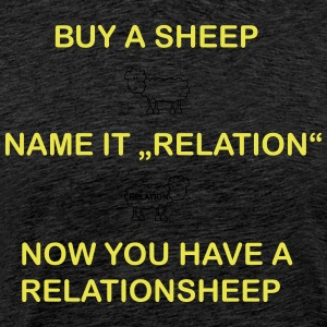 relation Sheep - T-shirt Premium Homme