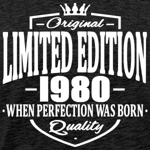 Limited edition 1980 - Mannen Premium T-shirt