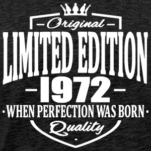 Limited edition 1972 - Premium T-skjorte for menn