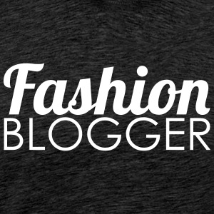 Fashion Blogger - Herre premium T-shirt