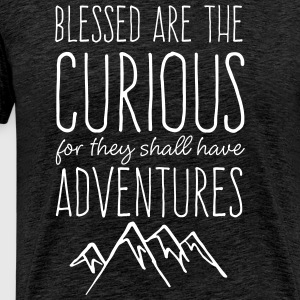 Blessed are the Curious - Men's Premium T-Shirt
