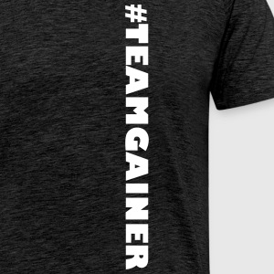 #TEAMGAINER - Men's Premium T-Shirt