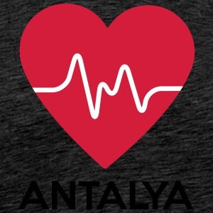 heart Antalya - Men's Premium T-Shirt