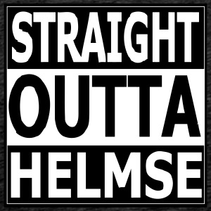 straight outta helmse - Men's Premium T-Shirt