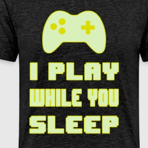 Gamers do not Sleep - Men's Premium T-Shirt