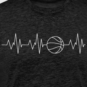 Heartbeat Basketball - Men's Premium T-Shirt