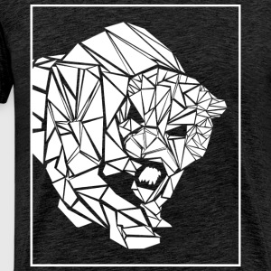 Panther, abstract - Mannen Premium T-shirt