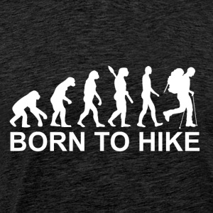 Born to hike - Men's Premium T-Shirt