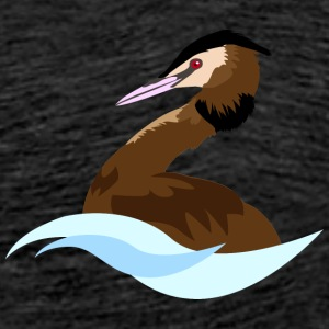 Great Crested Grebe - Men's Premium T-Shirt