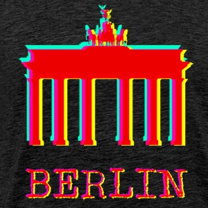 Berlin - Brandenburger Tor - Premium T-skjorte for menn