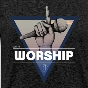 born to Worship JC - Men's Premium T-Shirt
