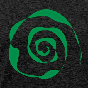 Green spiral - Men's Premium T-Shirt