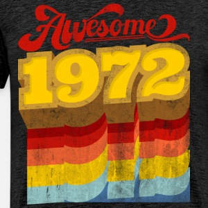 awesome 1972 birthday gift retro vintage style