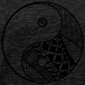 Decorative Yin-Yang - Men's Premium T-Shirt
