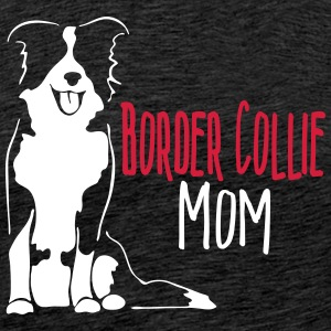 Border Collie Mum - Men's Premium T-Shirt