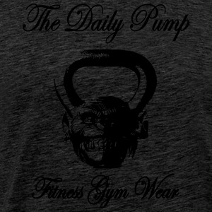 The Daily pumpe Chimp Kettlebell - Herre premium T-shirt