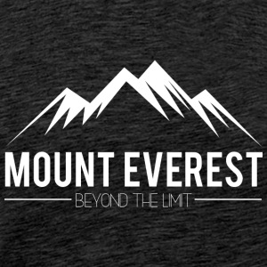 Everest Beyond the Limit - Herre premium T-shirt
