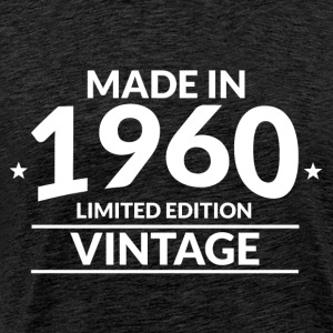 Made in 1960 - Limited Edition - Vintage - Herre premium T-shirt