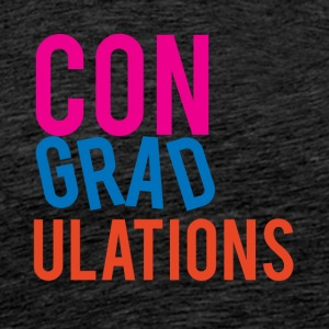 High School / Graduation: Congratulations - Men's Premium T-Shirt