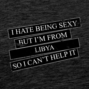 Motive for cities and countries - LIBYA - Men's Premium T-Shirt
