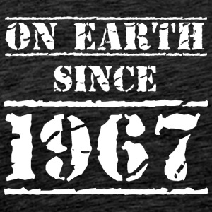 on earth since 1967 50th birthday 50th birthday - Men's Premium T-Shirt