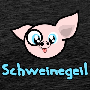 pig Geil - Men's Premium T-Shirt